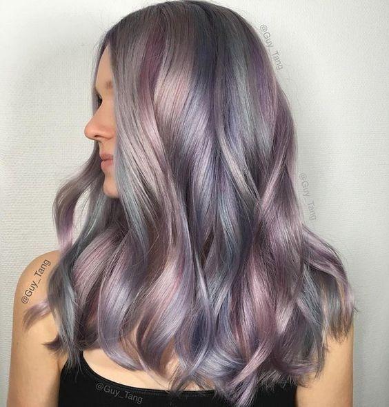 cabelo cinza grey hair