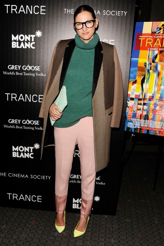 "Jenna Lyons== The Cinema Society & Montblanc host the premiere of Fox Searchlight Pictures' ""Trance""== SVA Theatre, NYC== April 2, 2013== ©Patrick McMullan== Photo -Clint Spaulding/PatrickMcMullan.com== =="