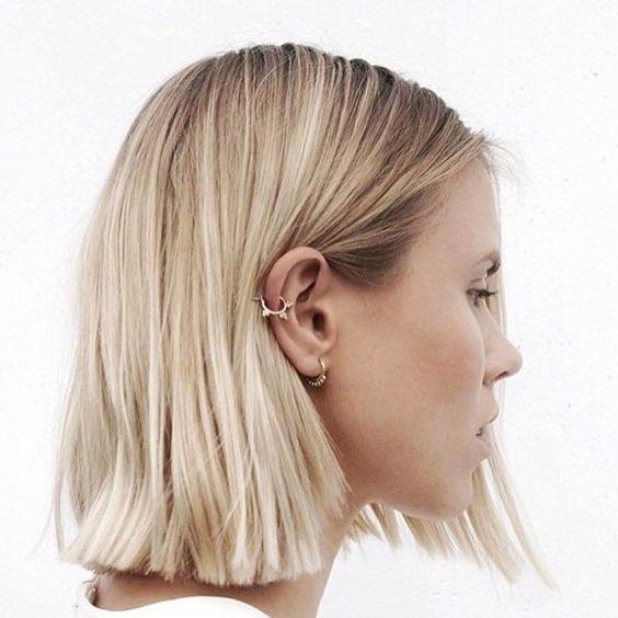 corte reto tendencia cabelo 2017