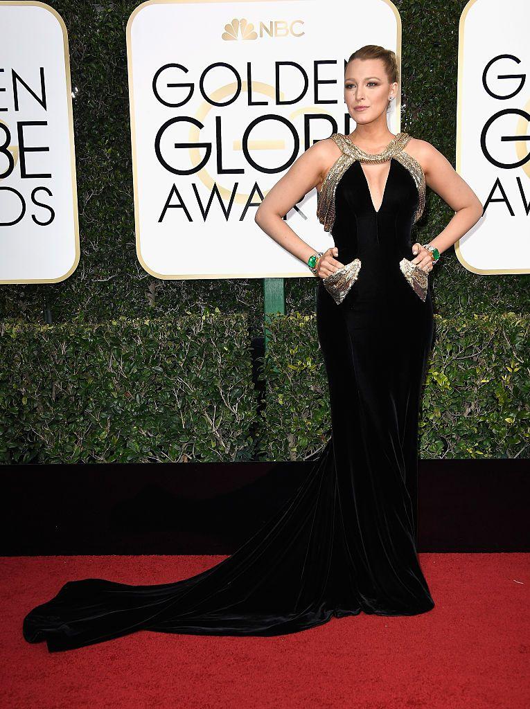 Golden Globes Blake Lively