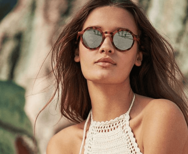 Óculos espelhados gabriela ganem consultoria de imagem analise cromatica