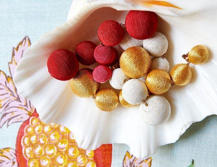 Brincos de bolas Les bonbons